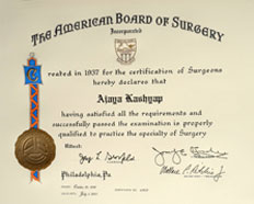 triple board certified plastic surgeons